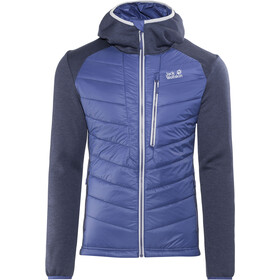 Jack Wolfskin Skyland Crossing Fleece Jas Heren, royal blue